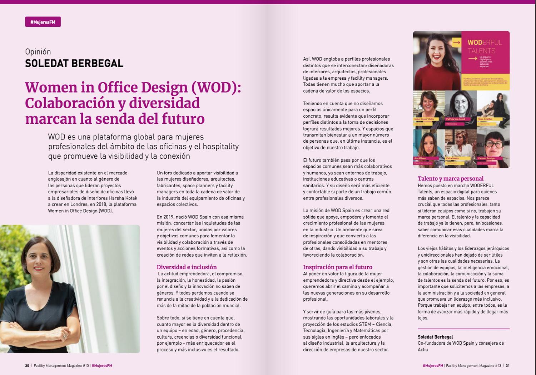 WOD en el Facility Management Magazine